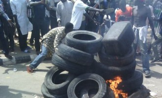 Nabbed suicide bomber 'burnt alive' in Gombe