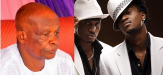 P-square lose father after knee surgery