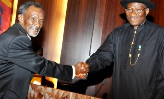 Jonathan swears in Mohammed as new CJN
