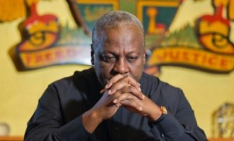 Ghana president, Dramani, 'complicit in cocaine mess'