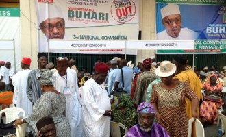 Buhari in early lead over Atiku at APC primary