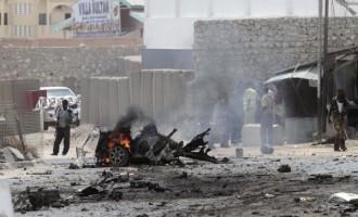 3 killed in UN car bomb in Somalia