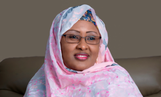 Buhari's wife, our first lady