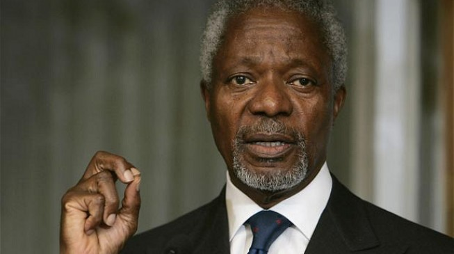 Kofi Annan, former UN secretary-general, is dead