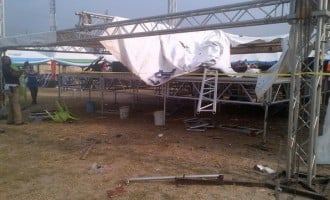 Thugs in Rivers vandalise venue of APC's governorship rally
