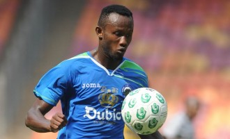 Udoh delighted with first Super Eagles goal