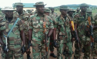 Army 'ready' to deploy troops for polls