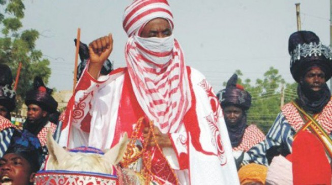 APC leaders flood Sanusi's coronation
