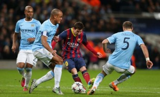 UCL PREVIEW: City 'not scared' of Barca