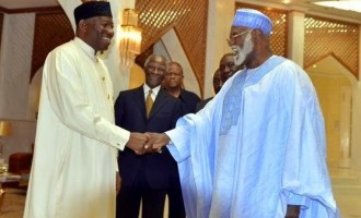 GEJ in private meeting with Mbeki, Abdulsalami