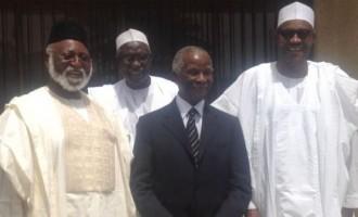 After Jonathan, Mbeki, Abdusalami meet Buhari