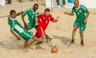 Supersand Eagles qualify for ABSC after Libya's withdrawal