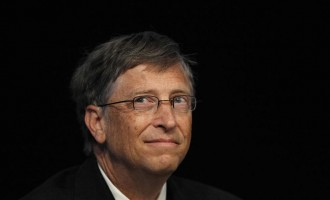 Bill Gates as 'a wailing wailer'