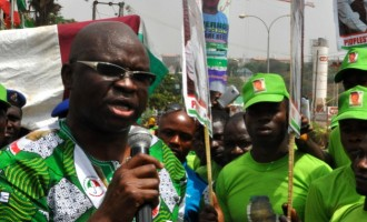 Fayose: Taraba verdict can't stand before God