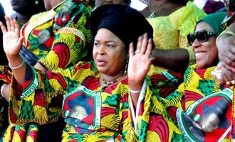 Patience Jonathan to Buhari: Tell Magu to leave me alone… Trump didn't go after Obama's wife