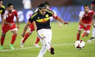 Falcao equals goal-record