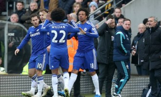 Late Loic Remy goal spares Chelsea