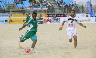Supersand Eagles tackle Ghana in Durban
