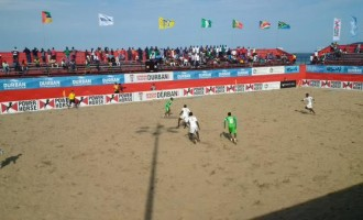Supersand Eagles lose to Senegal