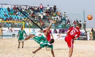 We are ready for beach soccer tourney, says Sand Eagles coach