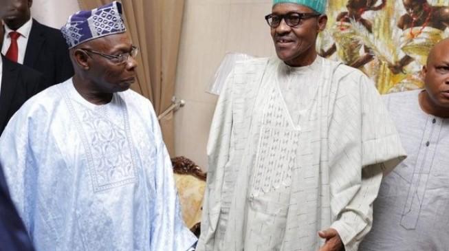 Buhari, Obasanjo meet in Lagos