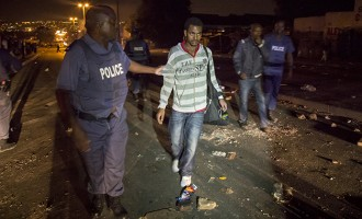 South Africa arrests 307 for xenophobia