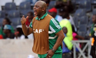 Keshi shouldn't have been sacked, says ex-sports minister