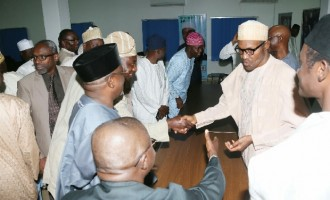 'Why Buhari didn't meet with APC lawmakers'
