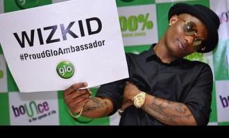 Wizkid confirms 'dumping' MTN for GLO
