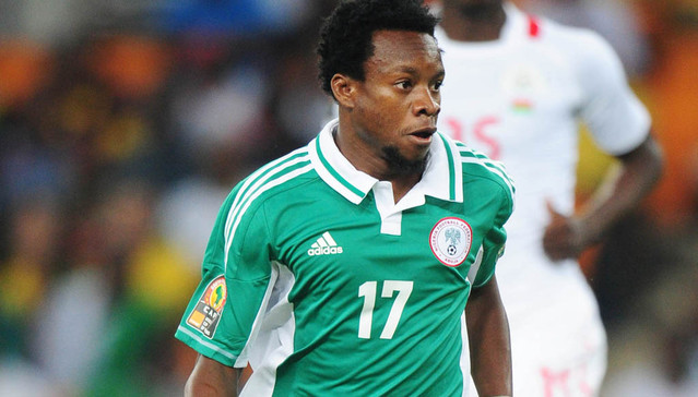 Onazi during the  2013 Orange Africa Cup of Nations final match between Nigeria and Burkina Faso