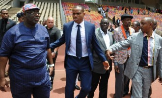 REVEALED: NFF sacked Oliseh after 'insane outburst', but the sports minister reversed it