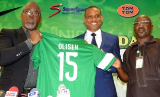 OFFICIAL: NFF confirm Oliseh as Eagles' coach