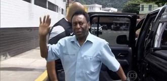 Pele hospitalised after collapsing due to exhaustion
