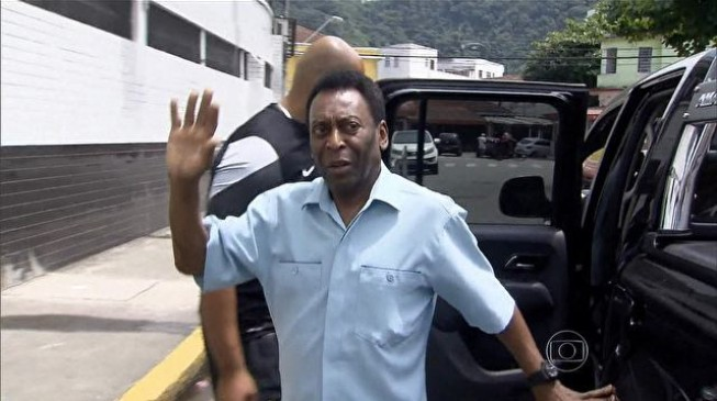 Brazil legend Pele hospitalised in homeland