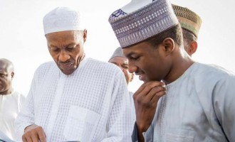 Buhari's son seriously injured in bike accident