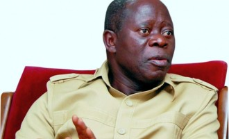 Oshiomhole: I won't fight Sylva, my brother, on the streets
