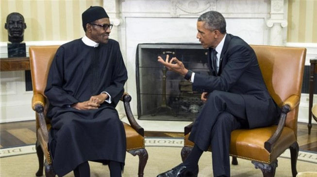 President Muhammadu Buhari arrives Washington for Trump Meeting