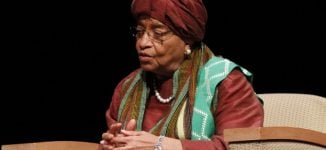 Liberia's president Johnson-Sirleaf expelled from ruling party
