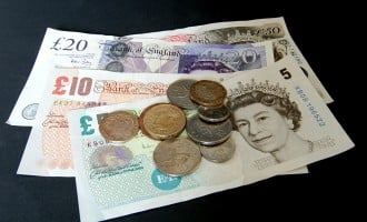 Sterling lower ahead of UK employment data