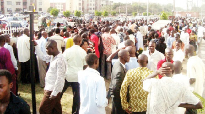 'Four in 10 Nigeria's workforce are unemployed or underemployed'