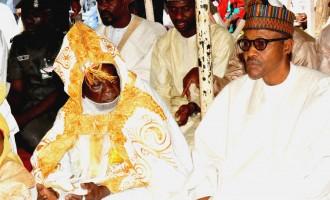 Buhari, DSS DG observe eid prayers in Daura