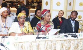 Toyin Saraki represents Buhari's wife at UNGA