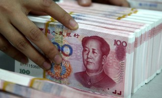 China sensitivity extends to the US markets
