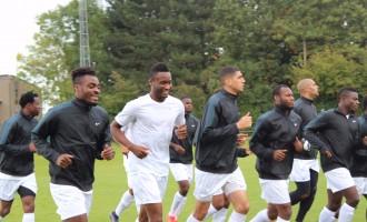 Super Eagles begin training in Belgium