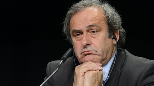English FA suspend support for Platini's FIFA president bid