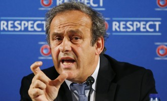 Platini defends $2 million fee from FIFA