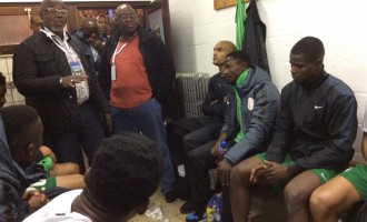 Pinnick urges Super Eagles to beat Cameroon