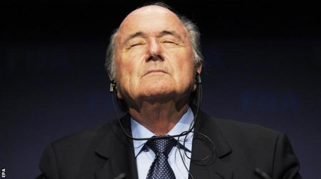 Sepp Blatter hospitalised