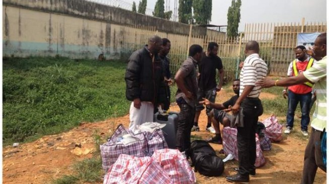 97 Nigerians deported from South Africa