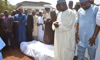 Buhari says Audu's death is a 'loss' as APC chieftains attend ex-gov's burial